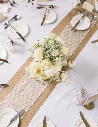 Ayrshire Wedding Table Styling