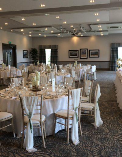 Ayrshire Wedding Venue Decoration