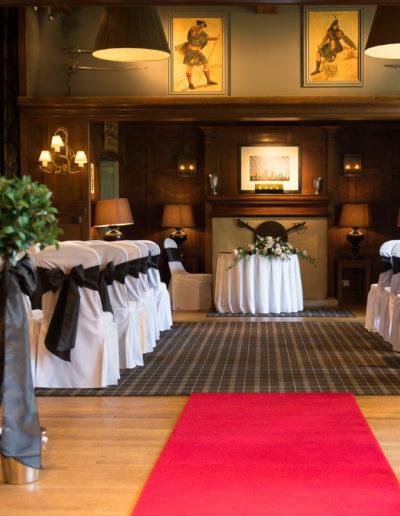 Ayrshire Wedding Venue Styling Savoy Park