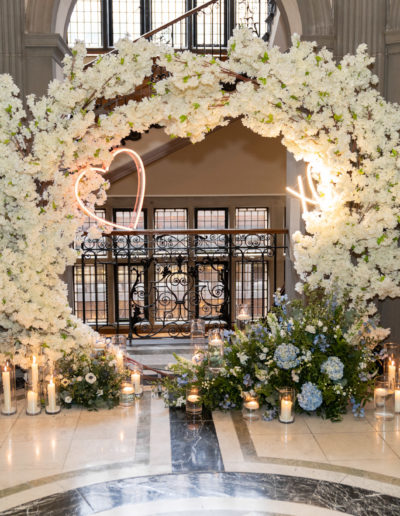 Blossom-Moongate-Wedding-Arch-Floating-Candle-Centrepiece-Ambience-Venue-Styling-York