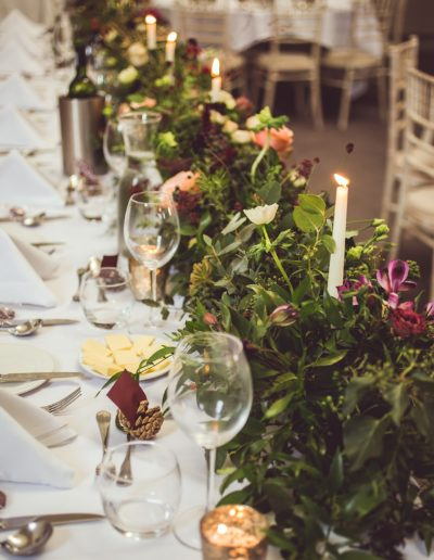 Buckinghamshire Table Decorations