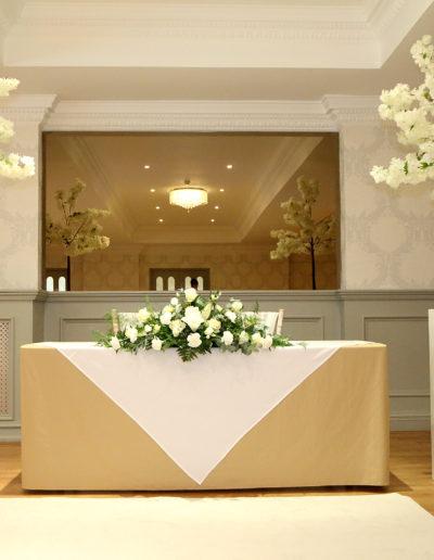Wedding Ceremony with Flowers
