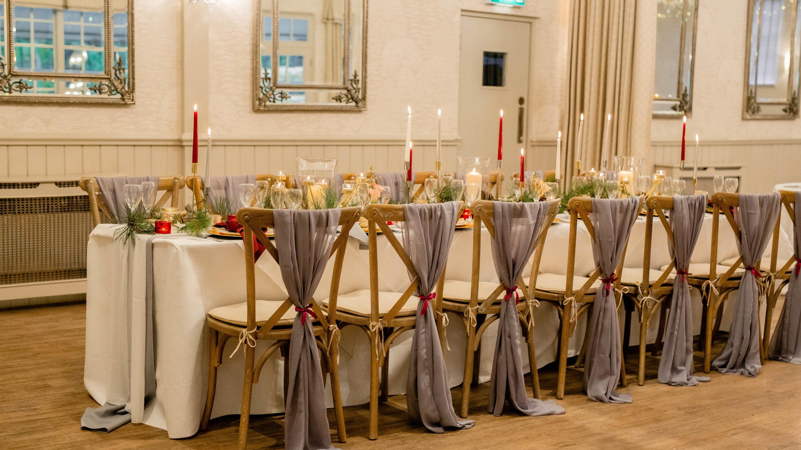 Wedding Table Dressing