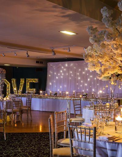 Cumbria Wedding Venue Styling