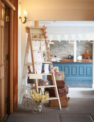 Derbyshire Wedding Venue Stylist
