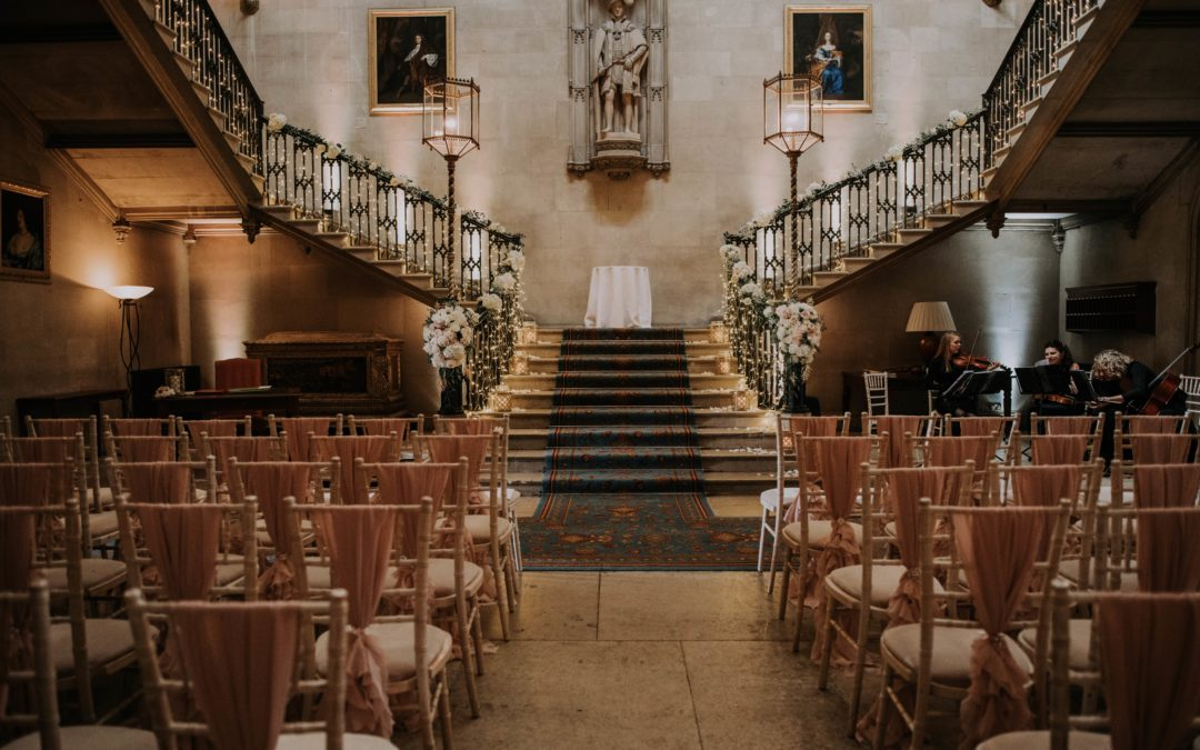 Staircase Styling Ideas For Your Wedding Day
