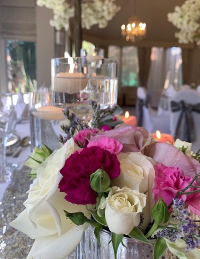 Edinburgh Wedding Top Table Styling