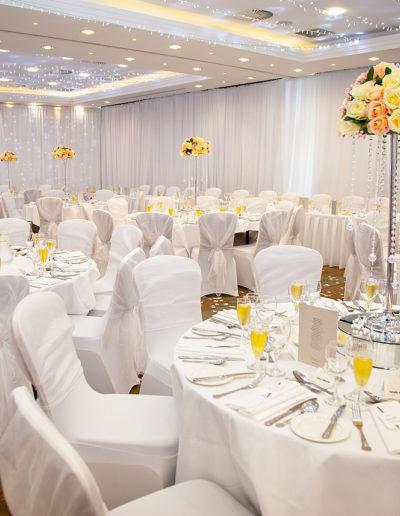 Edinburgh Wedding Venue Styling
