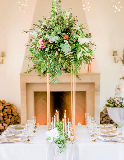 Floral-Table-Centrepiece-Ambience-Venue-Styling-Buckinghamshire