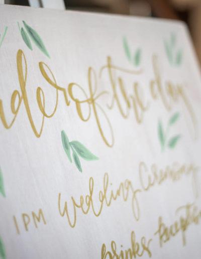 Harrogate Wedding Decor