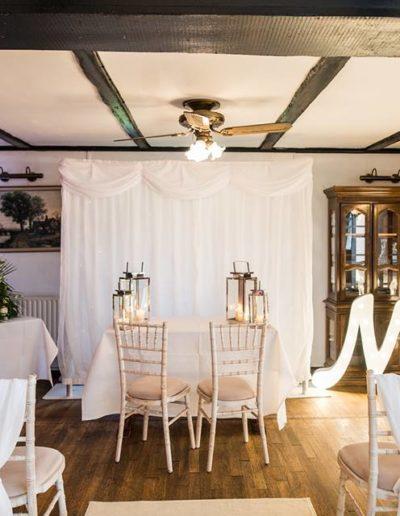 Peterborough Wedding Ceremony Styling