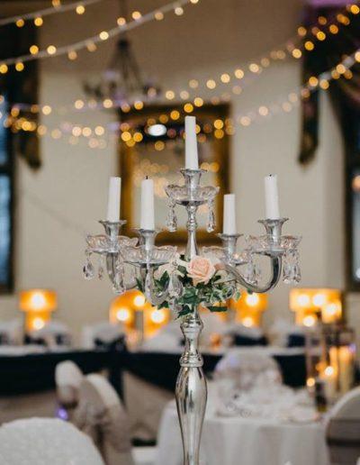 Peterborough Wedding Table Centrepiece