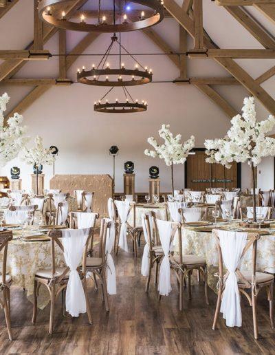 Peterborough Wedding Table Decor