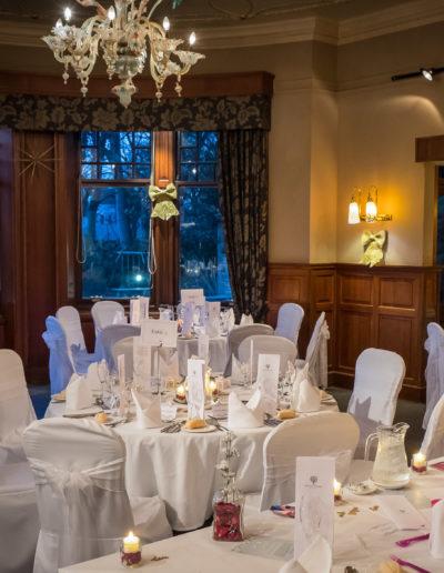 Savoy Park Wedding Breakfast Decoration