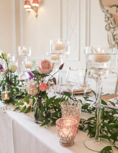 Teesside Wedding Top Table Decor
