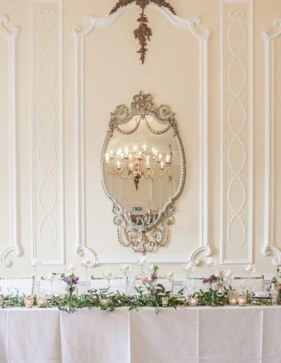 Teesside Wedding Venue Top Table
