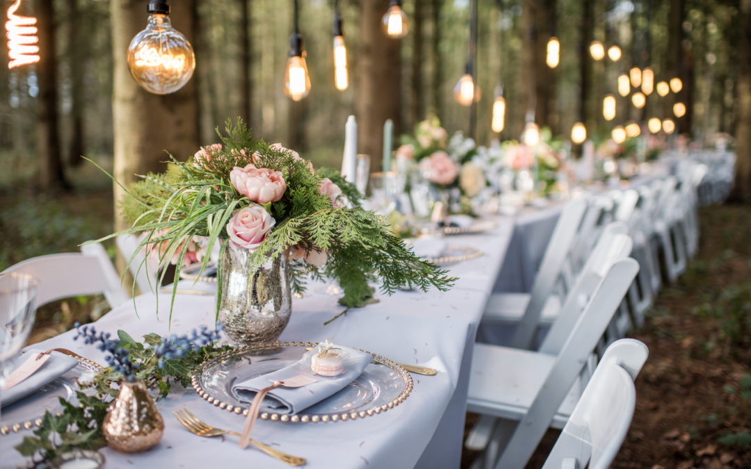 Romantic Outdoor Wedding Reception Ideas