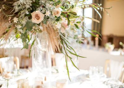 Flower Centrepiece - Table Decor - Ambience Venue Styling York