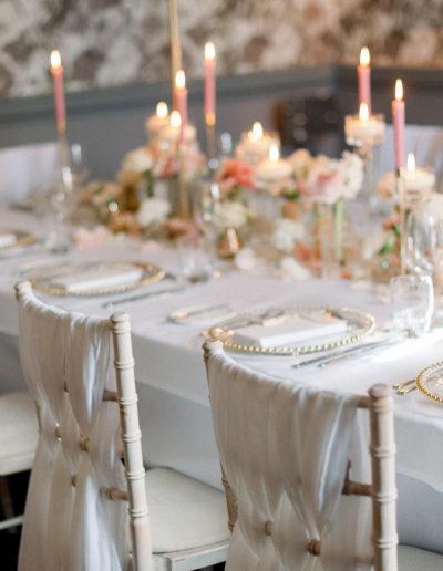 Ambience-Venue-Styling-Buckinghamshire-Wedding-Dinner-Chiavari-Chairs-Kate-Nielen-Photography-The-Langley