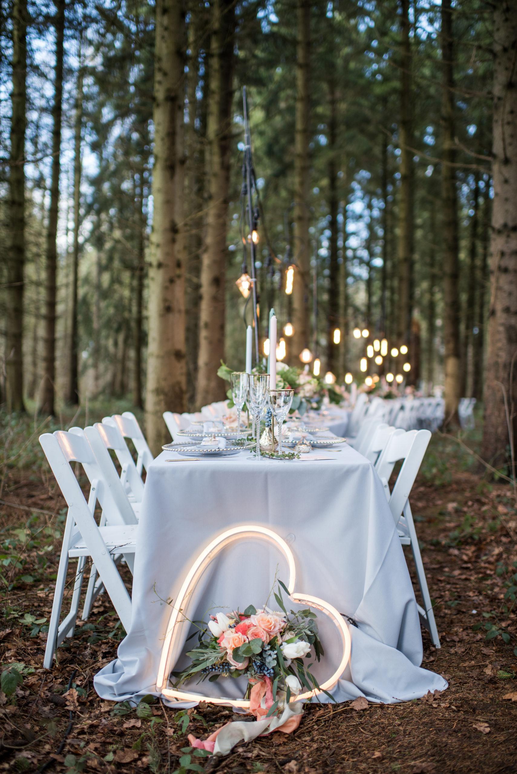 Woodland Wedding Banquet Dining