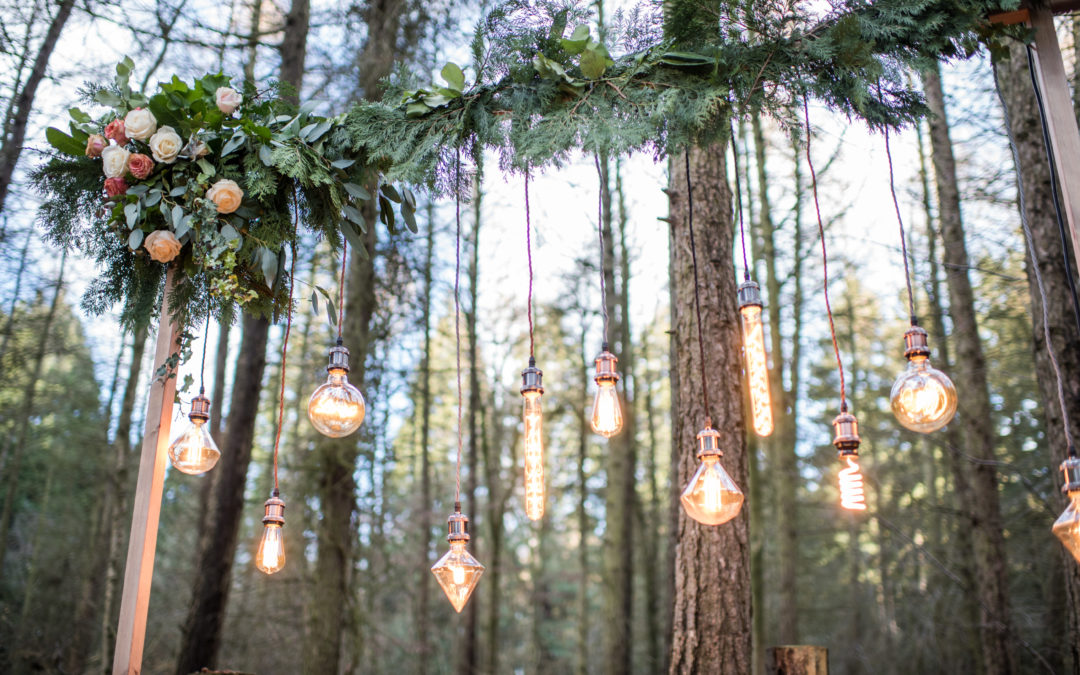 Top 5 Ways To Add Lighting To Your Wedding Day or Event