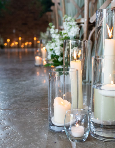 Aisle Decor Lanterns Ambience Venue Styling UK