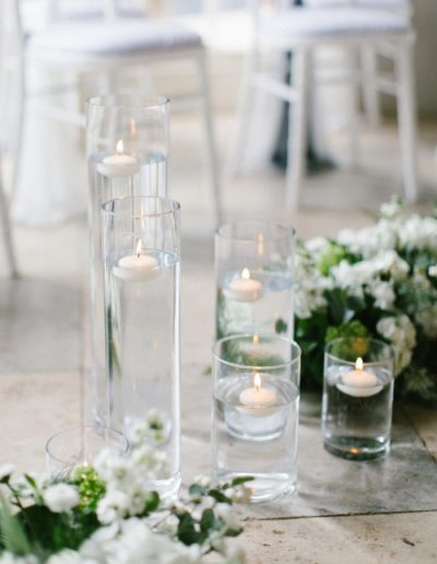 Floating Candles Ambience Venue Styling UK