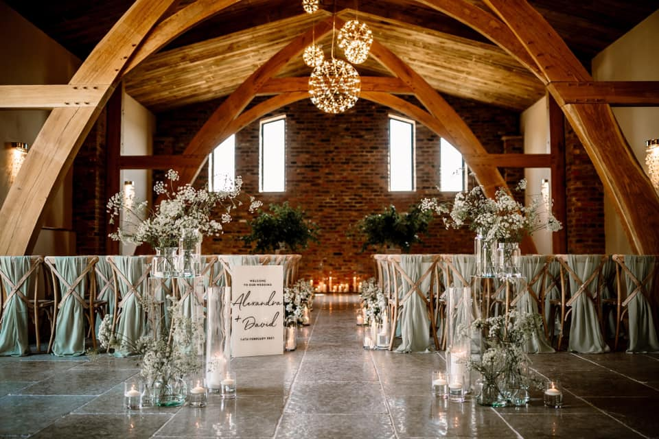 Top 5 Ideas For Styling Your Barn Wedding