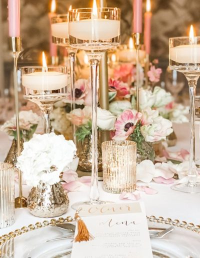 Table Decor Ambience Venue Styling UK