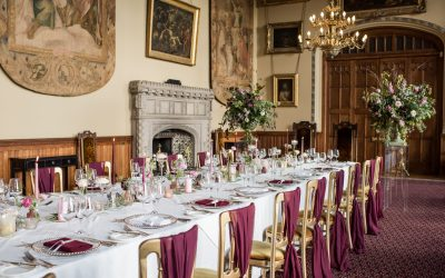 Top 7 wedding styling tips to transform your venue!