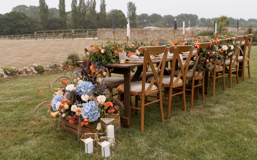 How to dress a countryside location without looking too rustic!