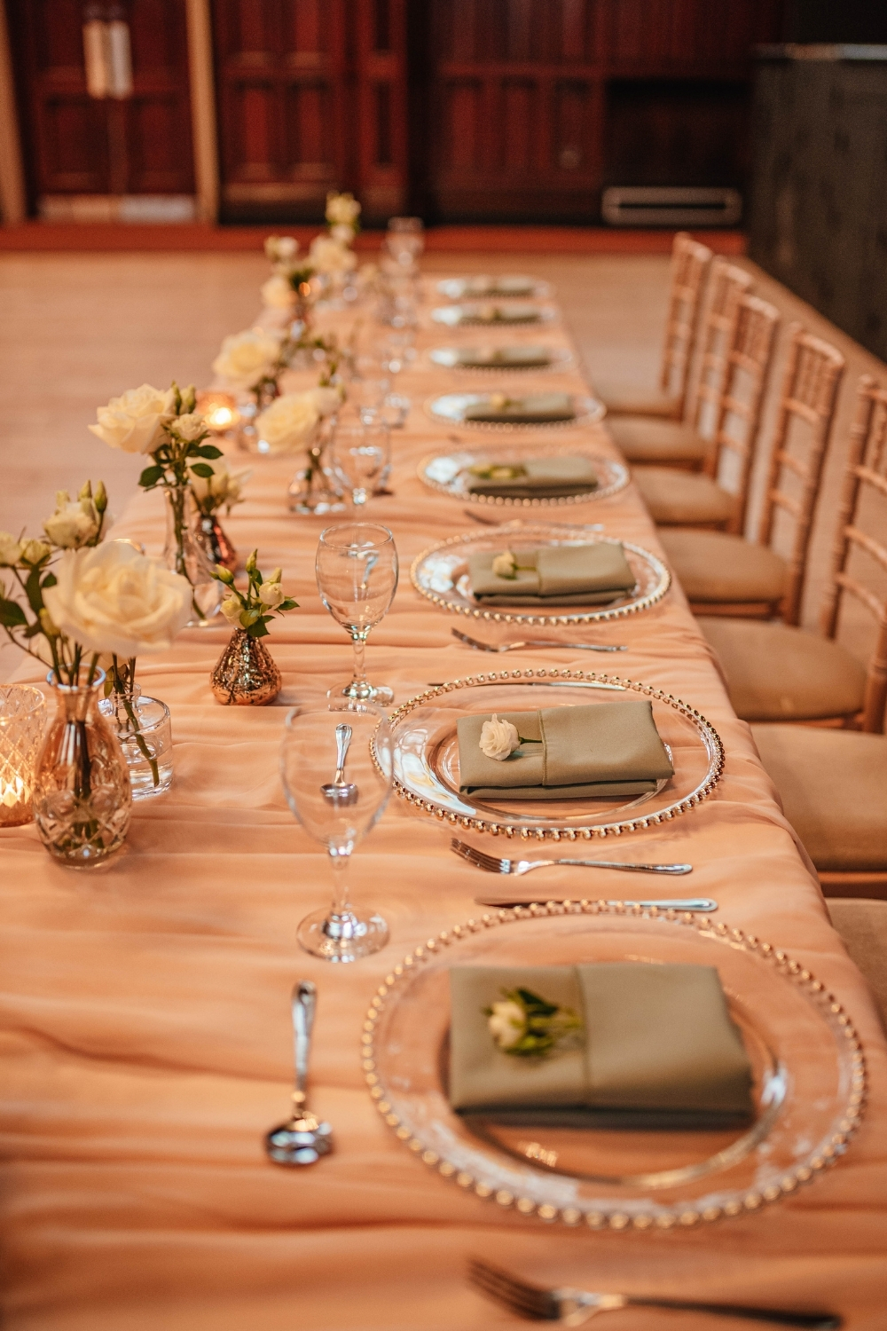 Top Table Decor Ambience Venue Styling Teesside