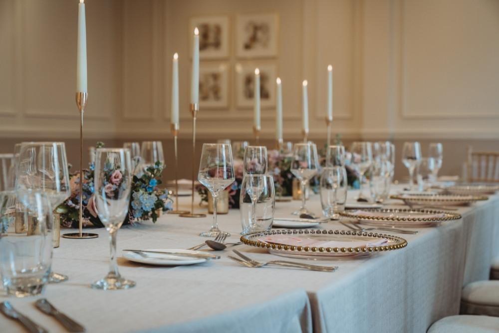 Oval Top Table Ambience Venue Styling Milton Keynes