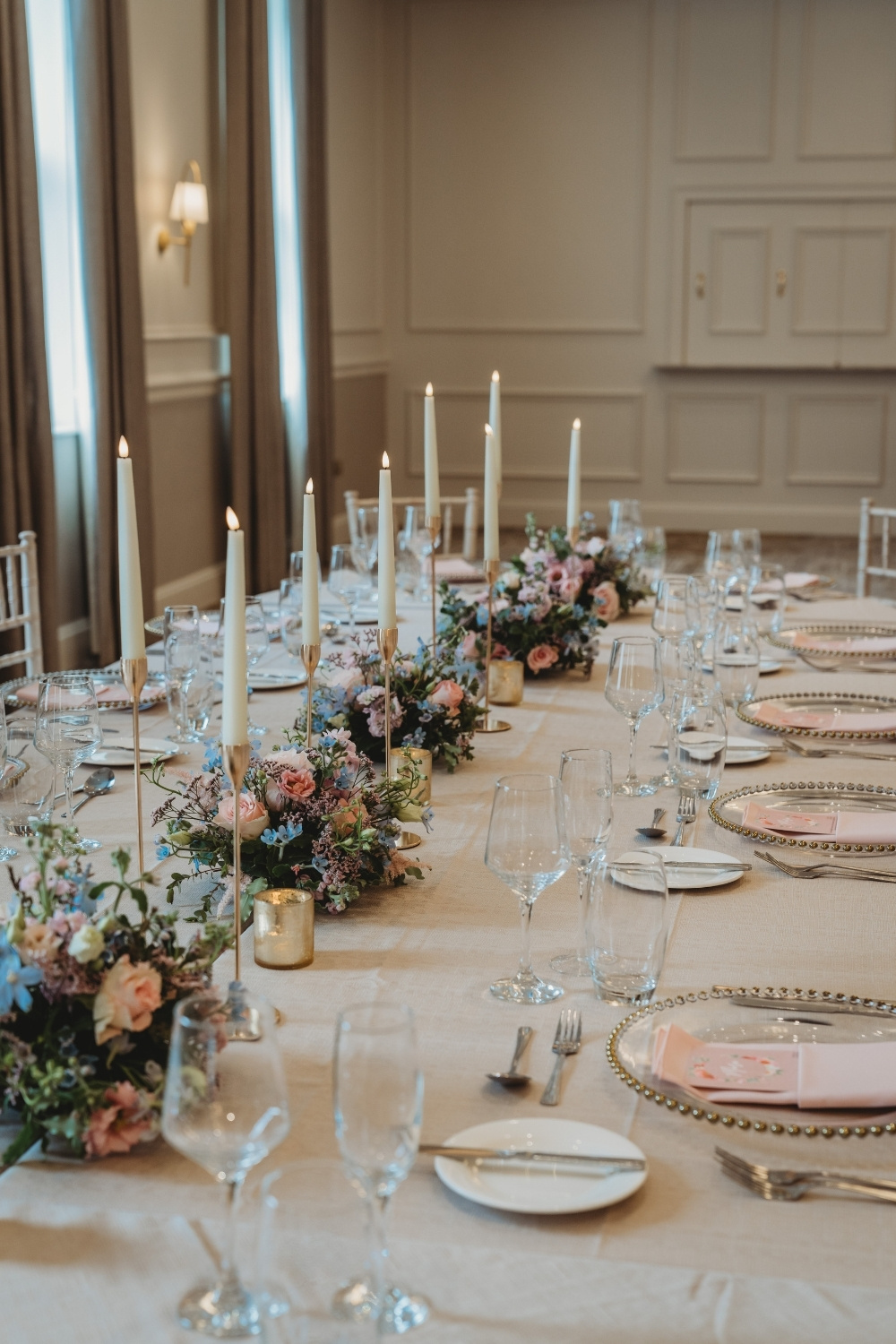 Oval Top Table Reception Ambience Venue Styling Milton Keynes