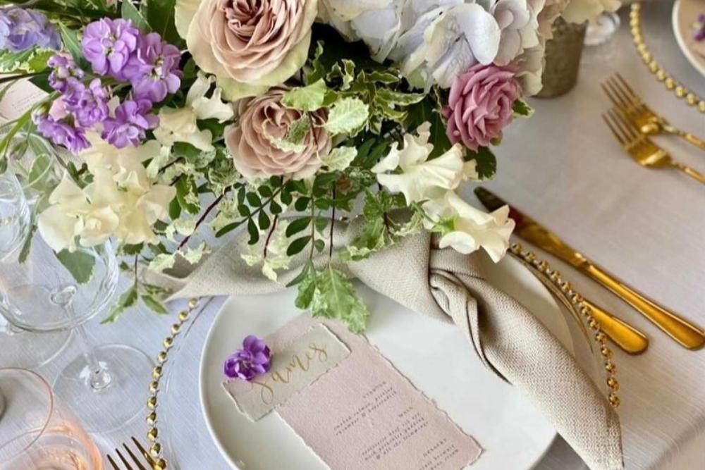 Pastel Wedding Styling Ambience Buckinghamshire