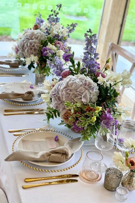 Table decor Ambience Venue Styling Buckinghamshire